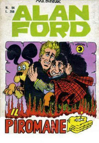 Cover for Alan Ford (Editoriale Corno, 1969 series) #94