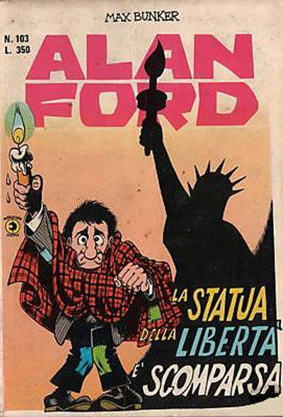 Cover for Alan Ford (Editoriale Corno, 1969 series) #103