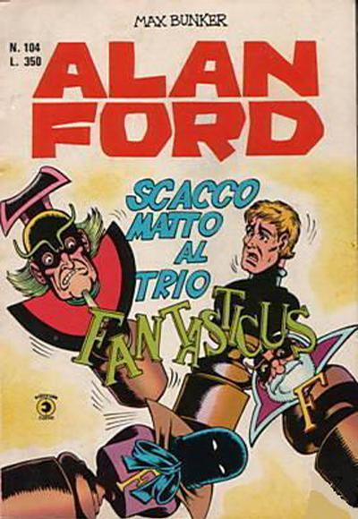 Cover for Alan Ford (Editoriale Corno, 1969 series) #104
