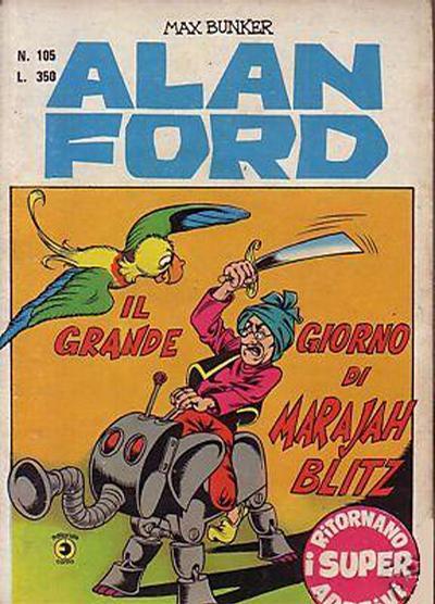 Cover for Alan Ford (Editoriale Corno, 1969 series) #105