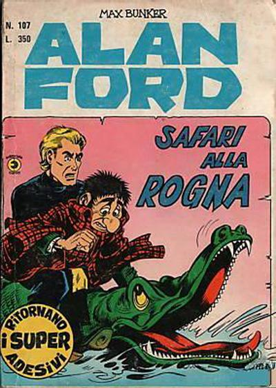 Cover for Alan Ford (Editoriale Corno, 1969 series) #107