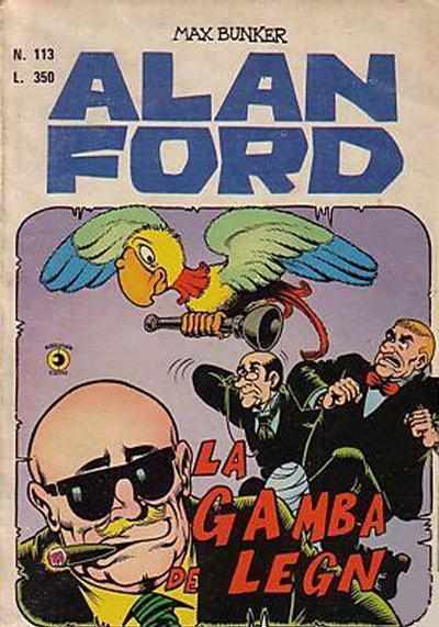 Cover for Alan Ford (Editoriale Corno, 1969 series) #113