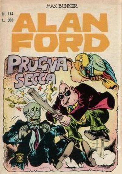 Cover for Alan Ford (Editoriale Corno, 1969 series) #114