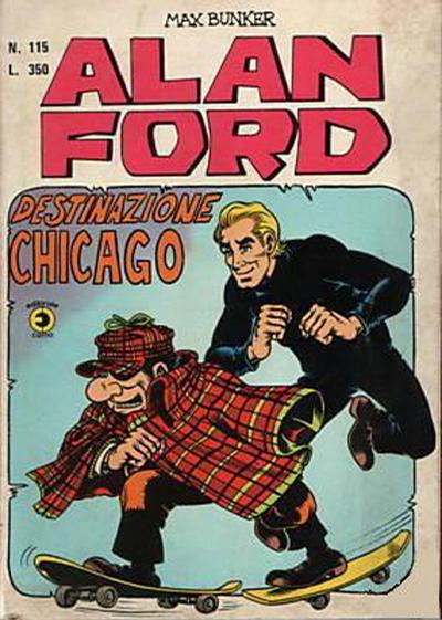Cover for Alan Ford (Editoriale Corno, 1969 series) #115