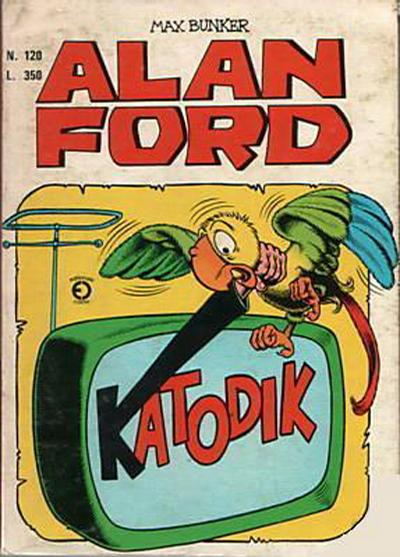 Cover for Alan Ford (Editoriale Corno, 1969 series) #120