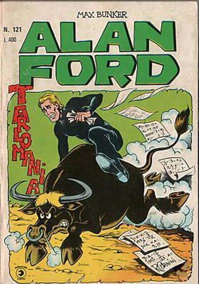 Cover for Alan Ford (Editoriale Corno, 1969 series) #121