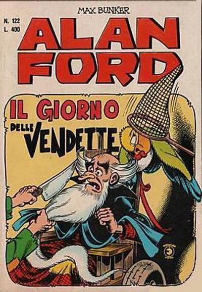 Cover for Alan Ford (Editoriale Corno, 1969 series) #122