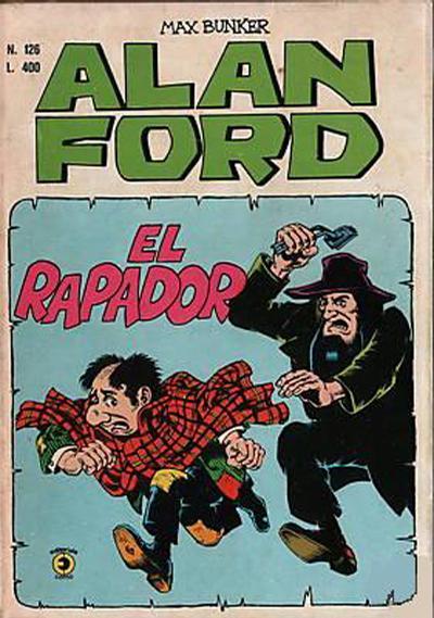 Cover for Alan Ford (Editoriale Corno, 1969 series) #126