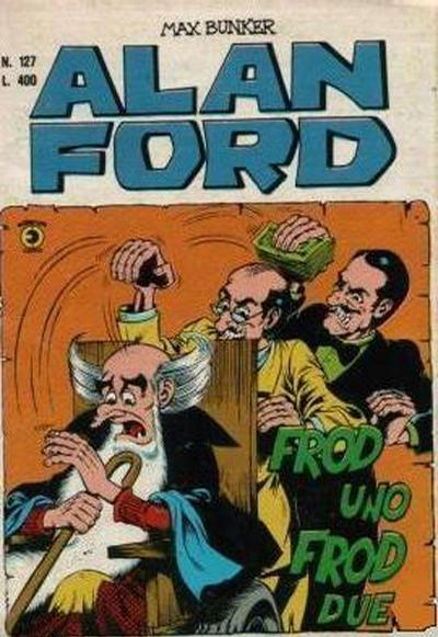 Cover for Alan Ford (Editoriale Corno, 1969 series) #127