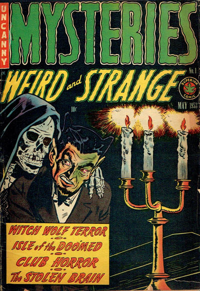 Cover for Mysteries (Superior, 1953 series) #1