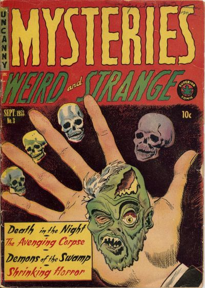 Cover for Mysteries (Superior Publishers Limited, 1953 series) #3