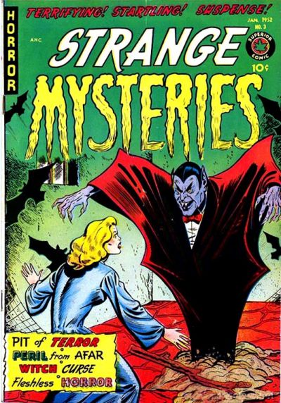 Cover for Strange Mysteries (Superior, 1951 series) #3