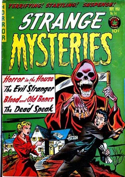 Cover for Strange Mysteries (Superior, 1951 series) #14