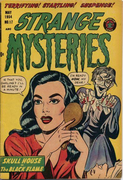 Cover for Strange Mysteries (Superior, 1951 series) #17