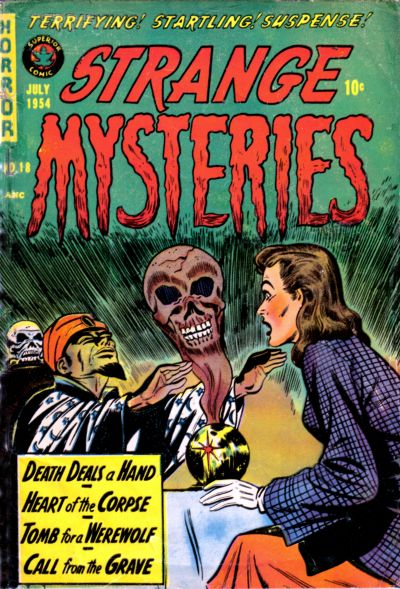Cover for Strange Mysteries (Superior, 1951 series) #18