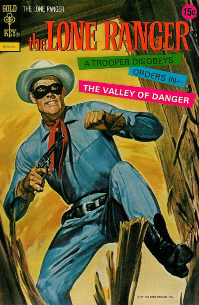 Cover for The Lone Ranger (Western, 1964 series) #17