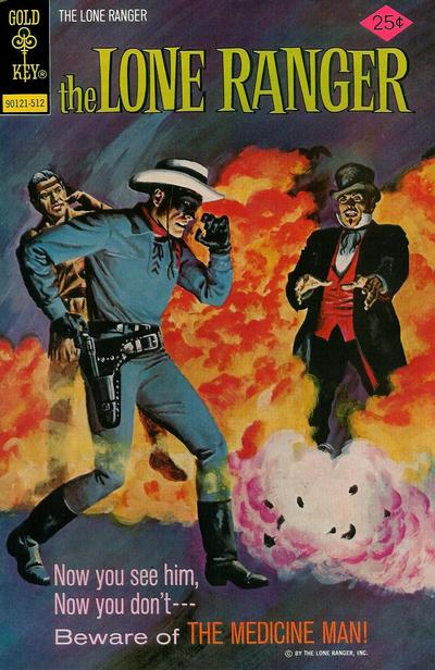Cover for The Lone Ranger (Western, 1964 series) #23 [Gold Key]