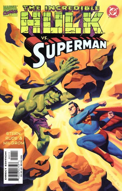 Cover for Incredible Hulk vs Superman (Marvel, 1999 series) #1