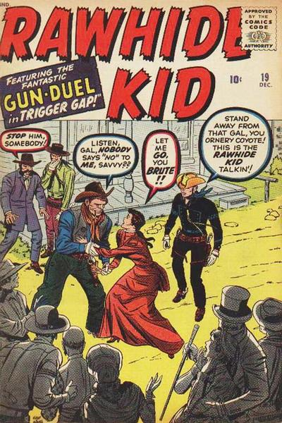 Cover for The Rawhide Kid (Marvel, 1960 series) #19
