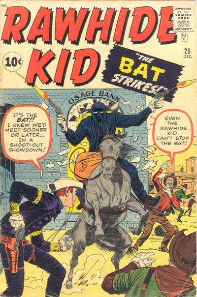 Cover for The Rawhide Kid (Marvel, 1960 series) #25