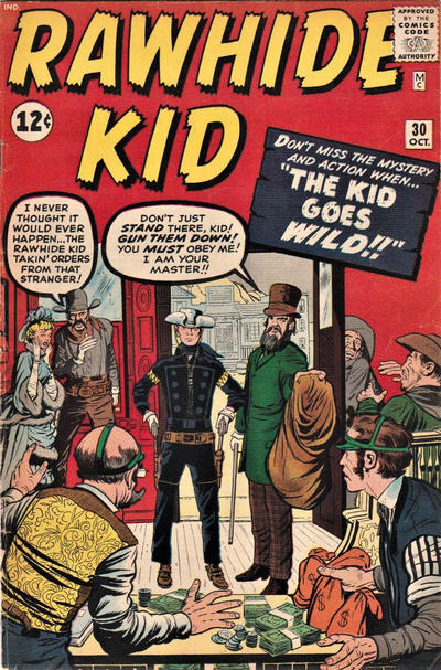 Cover for The Rawhide Kid (Marvel, 1960 series) #30