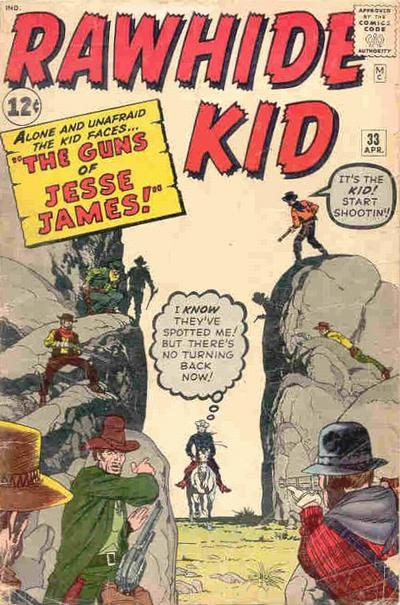 Cover for The Rawhide Kid (Marvel, 1960 series) #33