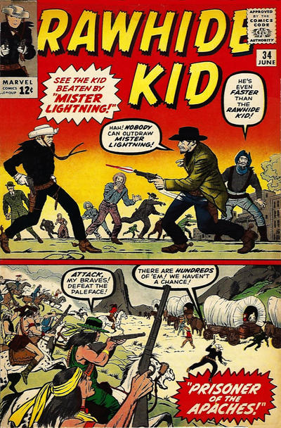 Cover for The Rawhide Kid (Marvel, 1960 series) #34