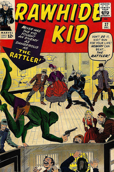 Cover for The Rawhide Kid (Marvel, 1960 series) #37