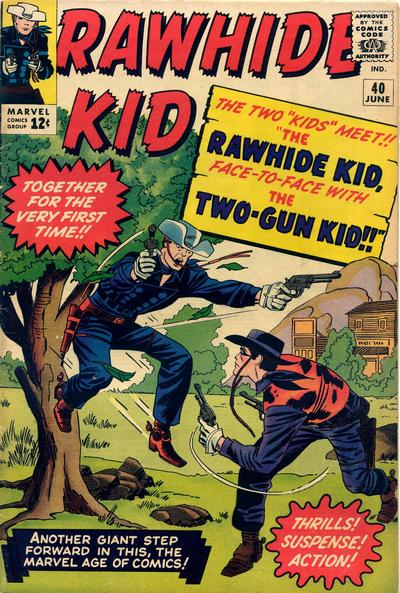 Cover for The Rawhide Kid (Marvel, 1960 series) #40