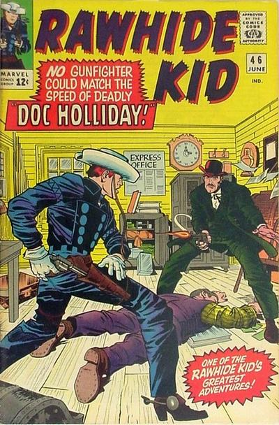 Cover for The Rawhide Kid (Marvel, 1960 series) #46