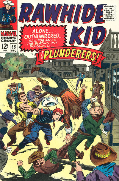 Cover for The Rawhide Kid (Marvel, 1960 series) #55
