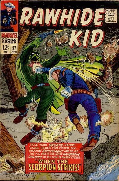 Cover for The Rawhide Kid (Marvel, 1960 series) #57