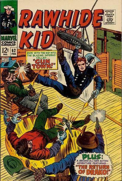 Cover for The Rawhide Kid (Marvel, 1960 series) #62