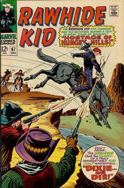 Cover for The Rawhide Kid (Marvel, 1960 series) #67
