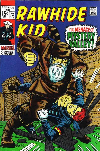Cover for The Rawhide Kid (Marvel, 1960 series) #72