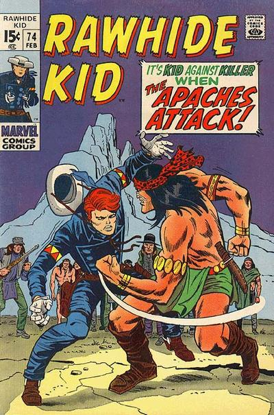 Cover for The Rawhide Kid (Marvel, 1960 series) #74