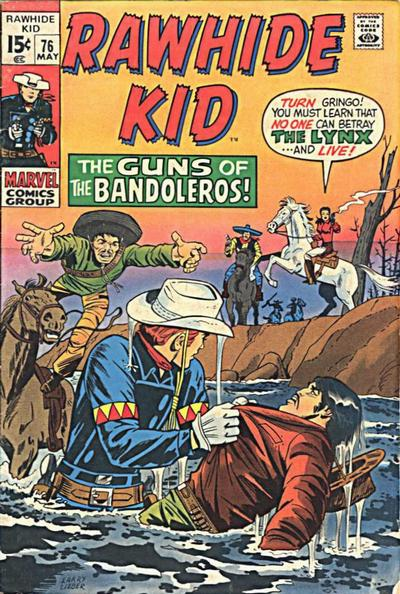 Cover for The Rawhide Kid (Marvel, 1960 series) #76
