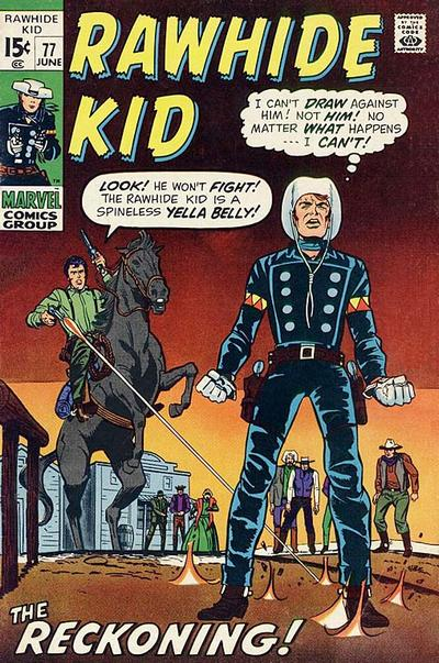 Cover for The Rawhide Kid (Marvel, 1960 series) #77