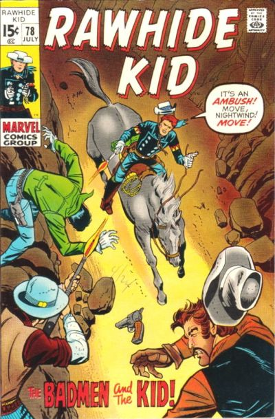 Cover for The Rawhide Kid (Marvel, 1960 series) #78