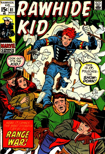 Cover for The Rawhide Kid (Marvel, 1960 series) #81