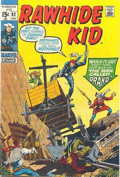 Cover for The Rawhide Kid (Marvel, 1960 series) #82