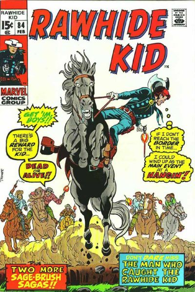 Cover for The Rawhide Kid (Marvel, 1960 series) #84