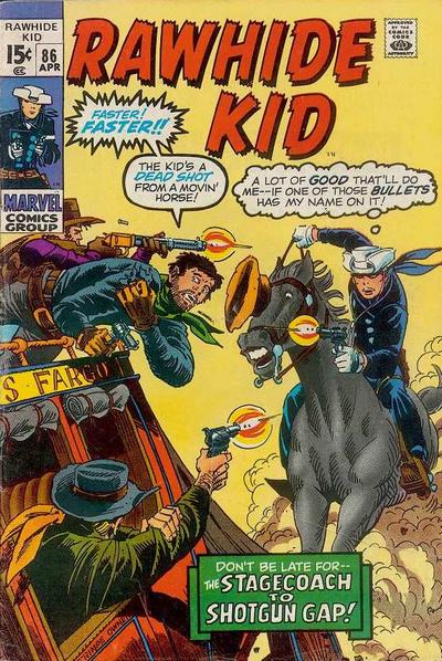 Cover for The Rawhide Kid (Marvel, 1960 series) #86