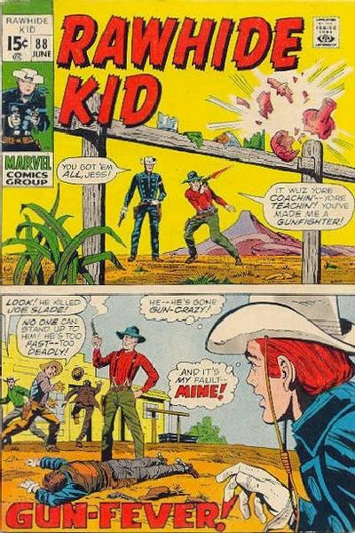 Cover for The Rawhide Kid (Marvel, 1960 series) #88