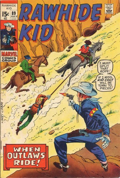 Cover for The Rawhide Kid (Marvel, 1960 series) #89