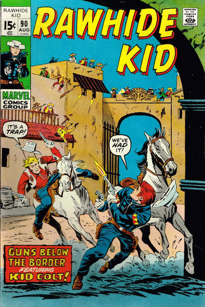 Cover for The Rawhide Kid (Marvel, 1960 series) #90