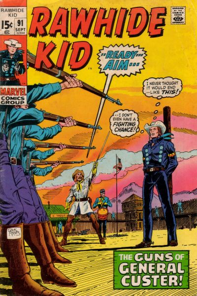 Cover for The Rawhide Kid (Marvel, 1960 series) #91