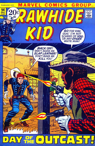 Cover for The Rawhide Kid (Marvel, 1960 series) #94