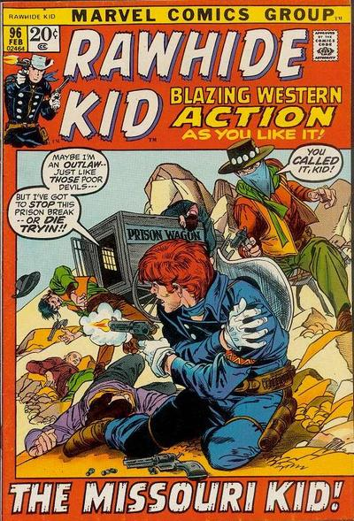 Cover for The Rawhide Kid (Marvel, 1960 series) #96