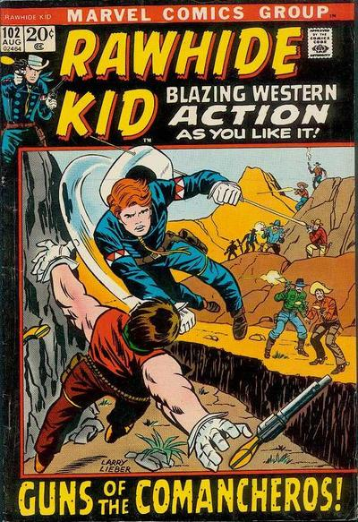 Cover for The Rawhide Kid (Marvel, 1960 series) #102